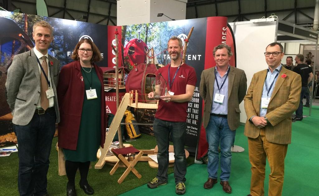 Tree Tents win innovation award