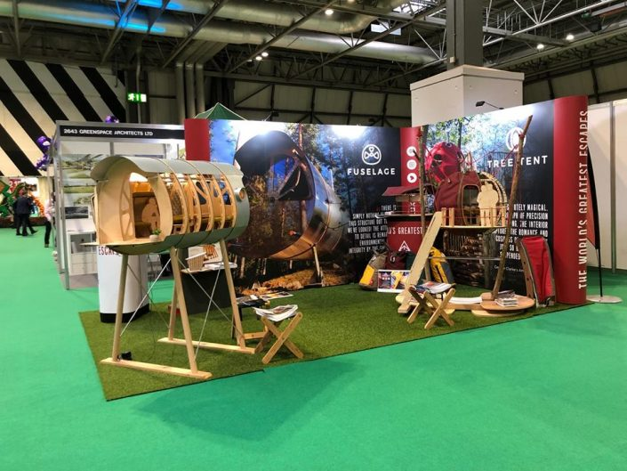 Tree Tents at NEC